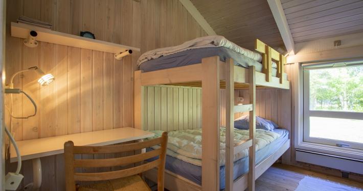 værelse med 4 sovepladser